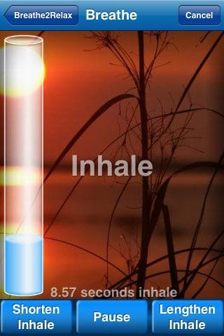 Breathe2Relax mejores apps para relajarse y combatir el estres