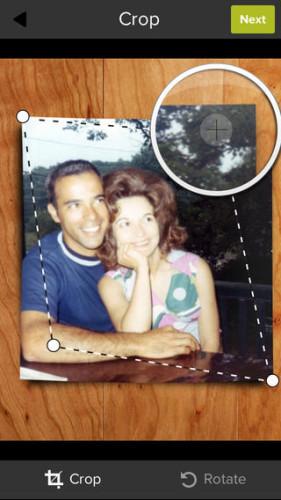 Shoebox - retocar corregir editar fotos antiguas