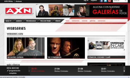canal axn - ver televsion gratis online