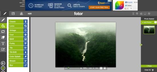 fortor.com editor de fotos online gratis