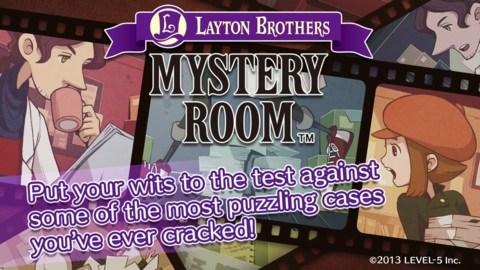 Layton Brothers Mystery Room juego de misterio estrategia puzzles iphone ipad ipod touch
