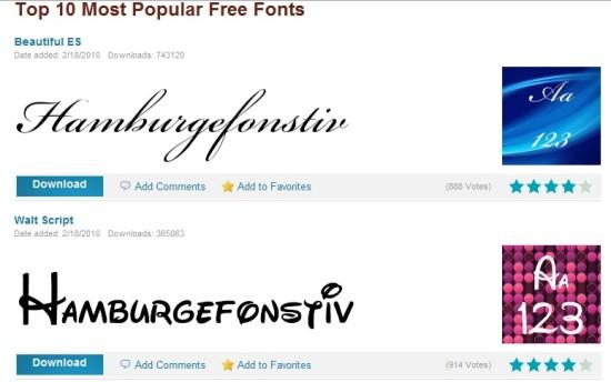 FontStock.net descargar fuentes gratis
