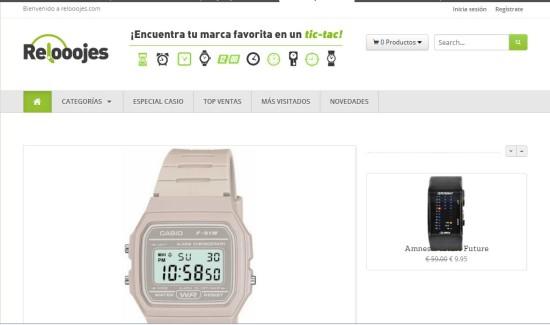 Relooojes.com oulet relojes - comprar relojes baratos