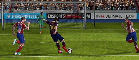 FIFA 14 de EA SPORTS - El mejor juego de futbol para tu movil android