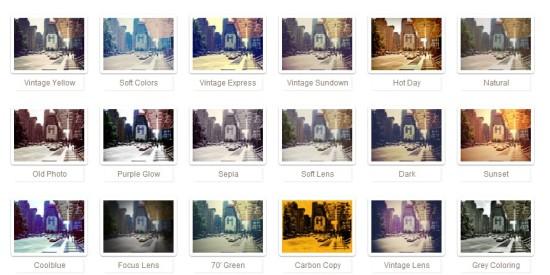 Rollip efectos fotos online