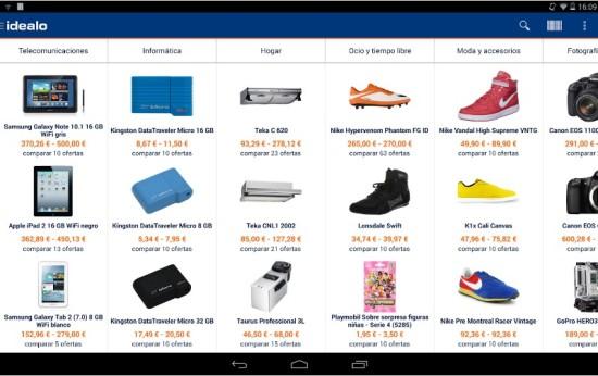 idealo app comparador de precios