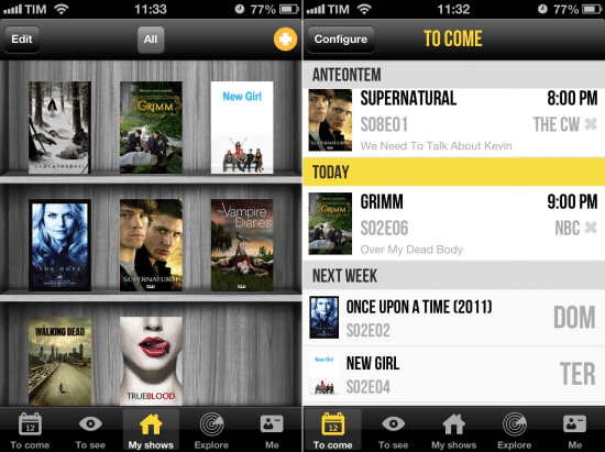 tvshow time app - apps series online