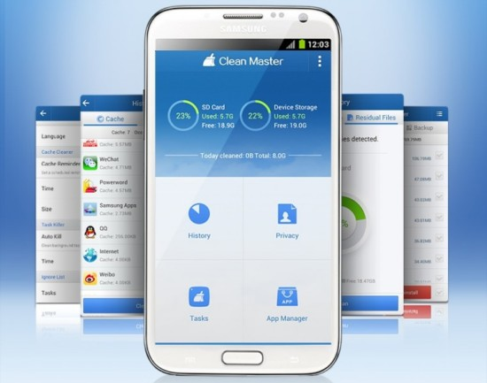 Clean-Master - optimizar rendimiento movil android