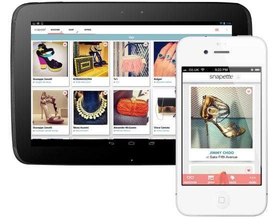Snapette app mejores apps de moda, estilo y tendencias