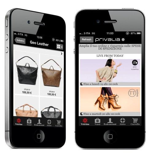 privalia mobile - ofertas moda