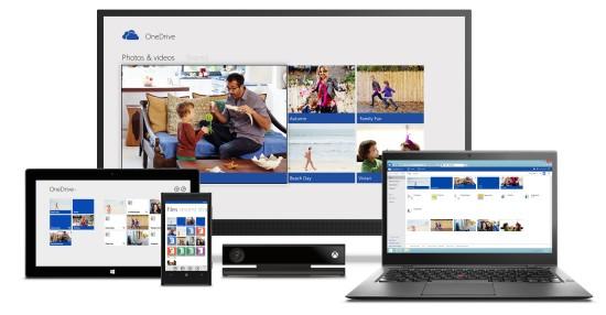 Microsoft OneDrive - mejores discos duros online gratis