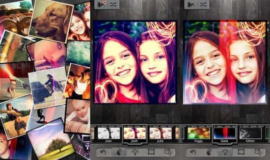 Pixlr-o-matic mejores apps para retocar y compartir fotos