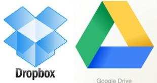Google Drive o Dropbox Cuál es el mejor disco duro virtual