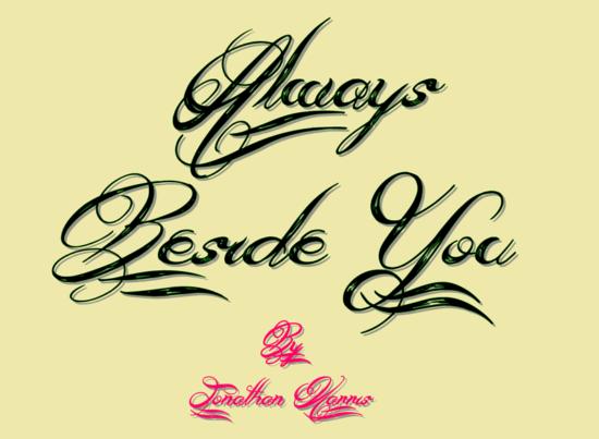 mejores letras para tatuajes allwais beside you