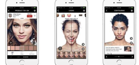 mejor app de cambio delook virtual mobyface