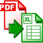 mejores conversores de documentos pdf a excel