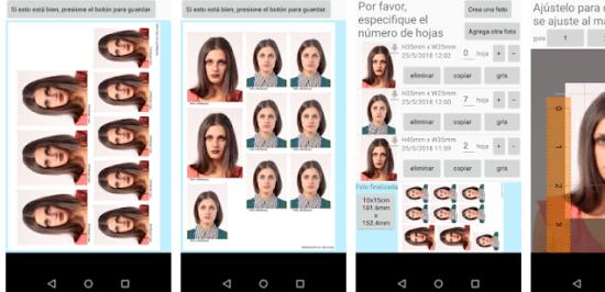 1 mejor app para imprimir fotos de carnet