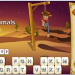 Wild West Hangman - mejores juegos de palabras en ingles online