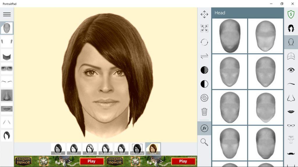 app para crear retratos robot