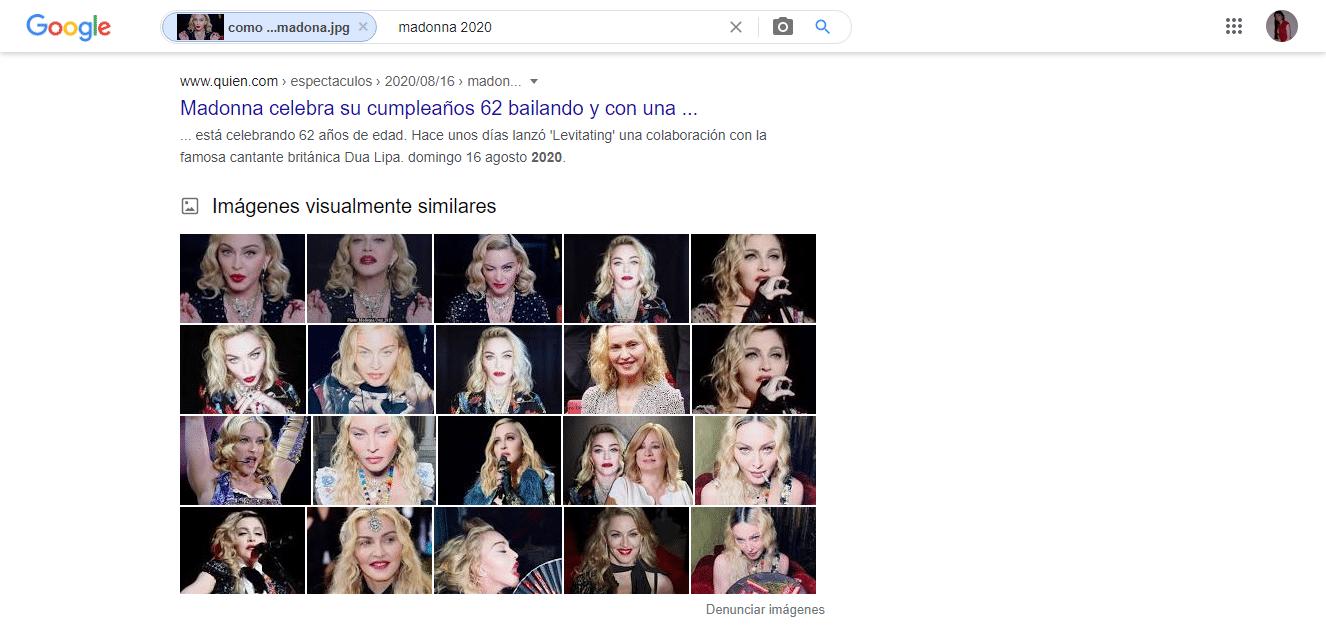 buscar personas en google por su foto