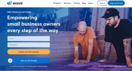 como crear una factura online