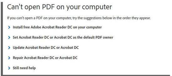 error al recuperar un archivo pdf
