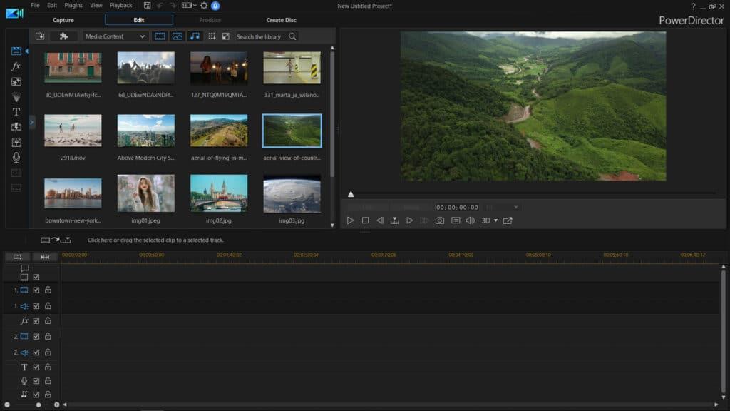 mejores programas para mejorar la calidad de un video - PowerDirector
