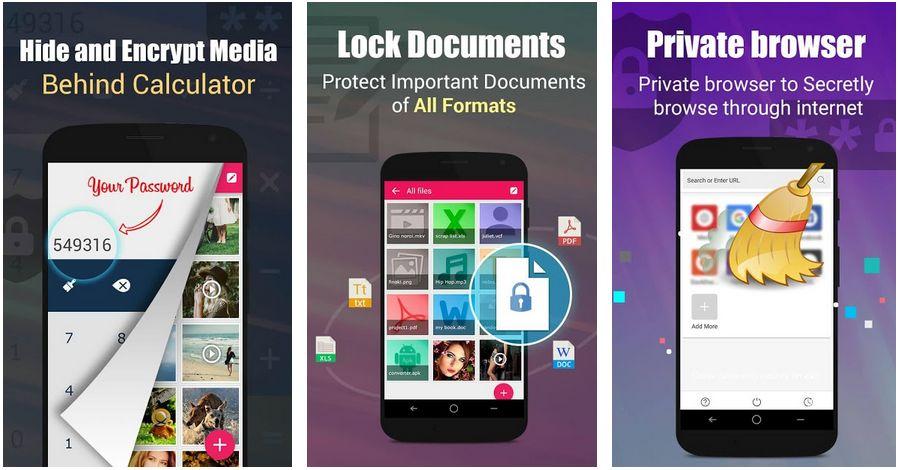 armario privado de fotos y videos