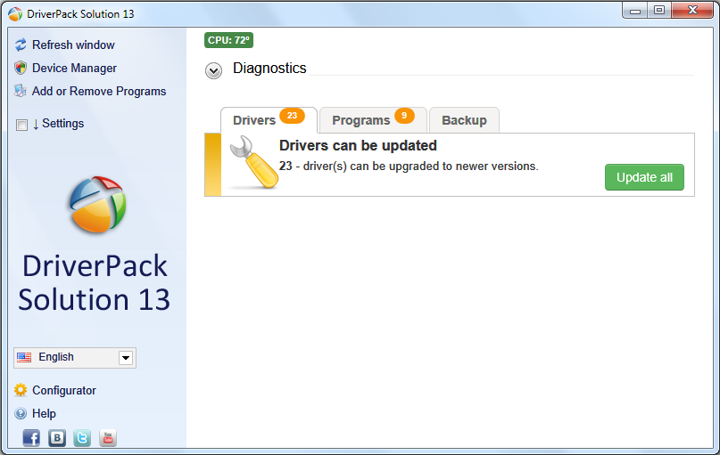 Solución DriverPack