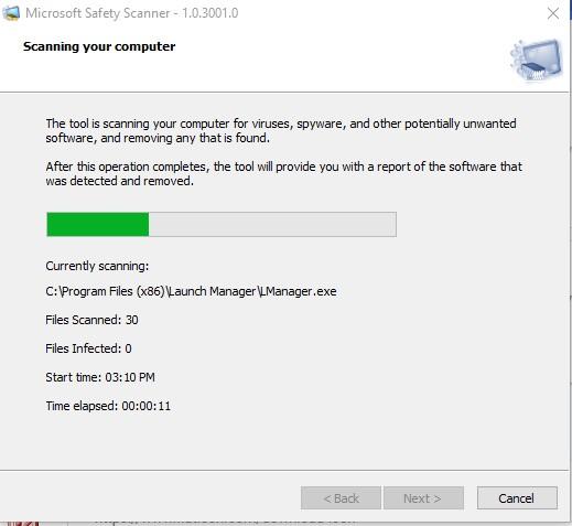 Microsoft Safety Scanner - Mejor antivirus portable