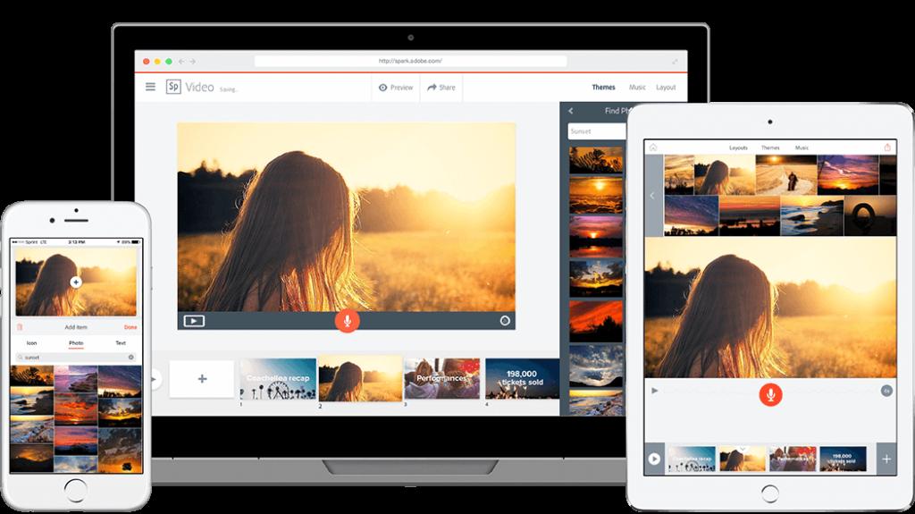 mejor programa para crear presentaciones - Adobe Spark