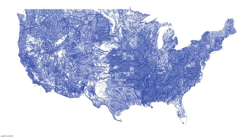 mapa de los ríos de los estados unidos 40 mapas que le ayudarán a entender el mundo
