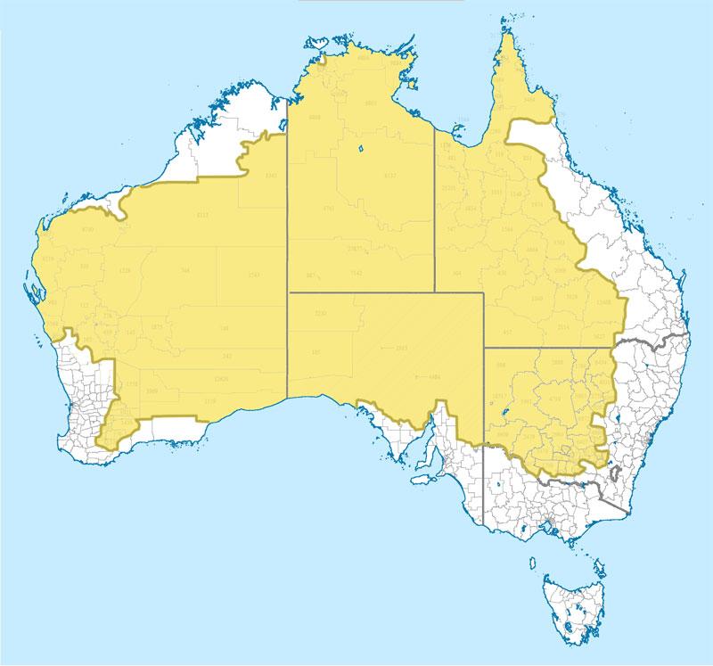 dónde vive el 2% de la población de australia 40 Mapas que te ayudarán a entender el mundo