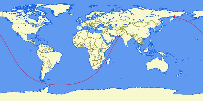 la línea recta más larga que se puede navegar en el mundo 40 mapas que le ayudarán a entender el mundo