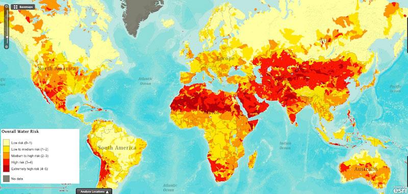 el riesgo de sequía no es algo aislado alrededor del ecuador 40 Mapas que le ayudarán a entender el mundo
