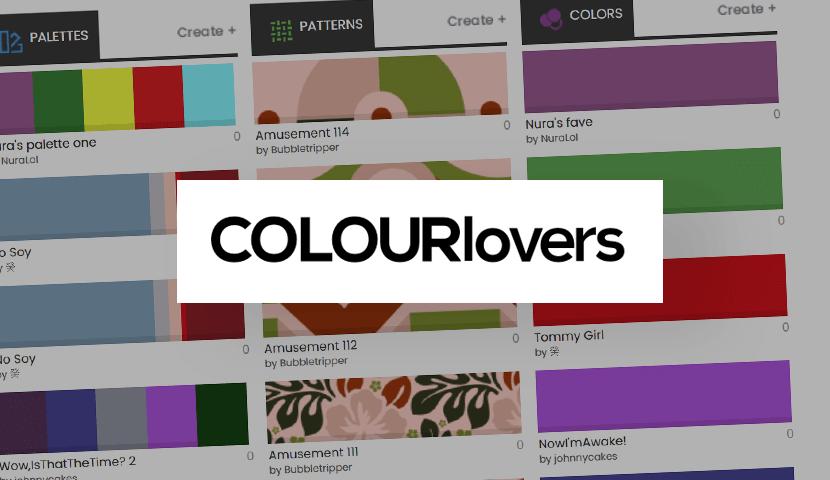 Patrones ColorLovers