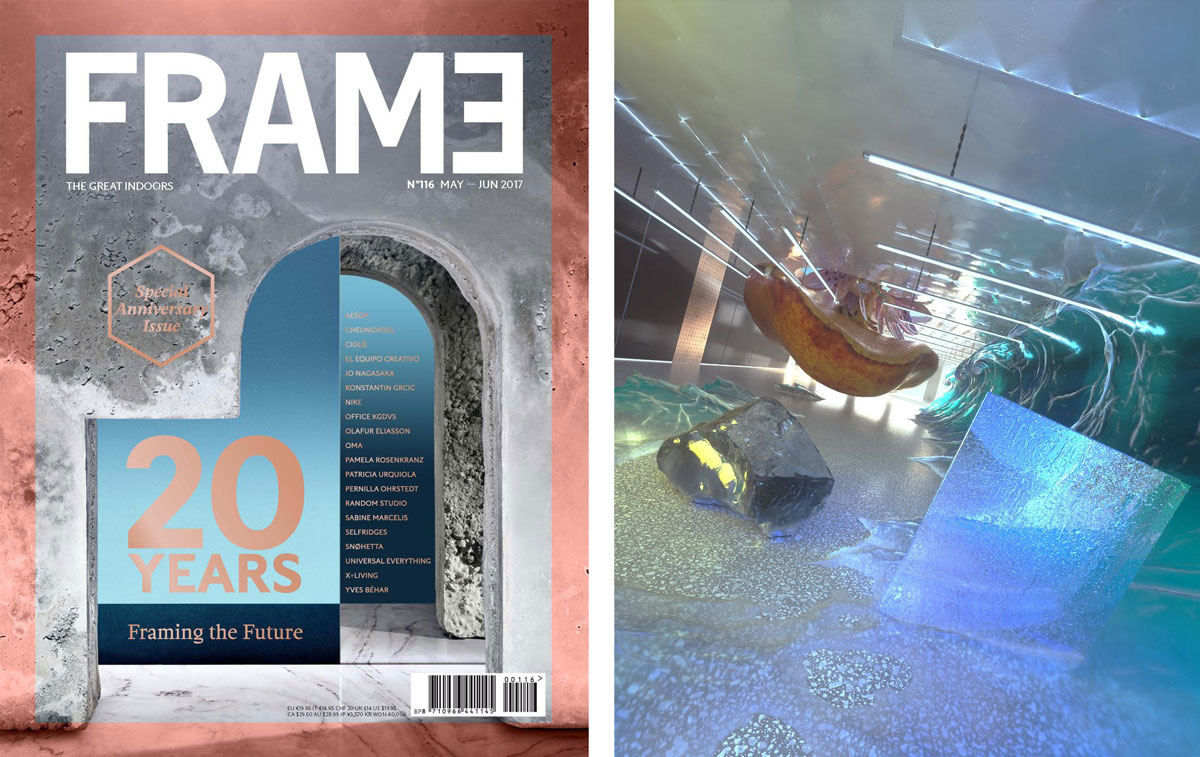 10 mejores revistas de diseño de interiores en el Reino Unido FRAME.