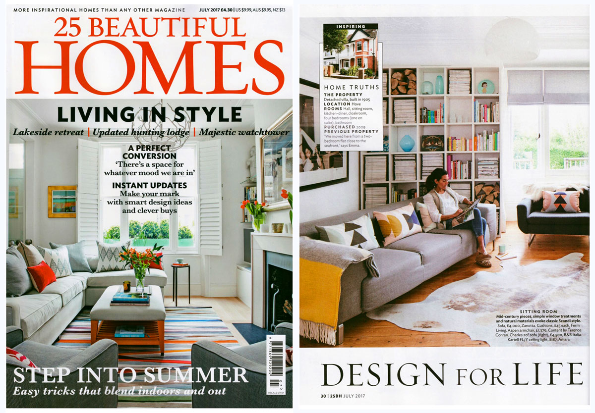 10 mejores revistas de diseño de interiores del Reino Unido 25 Beautiful Homes.