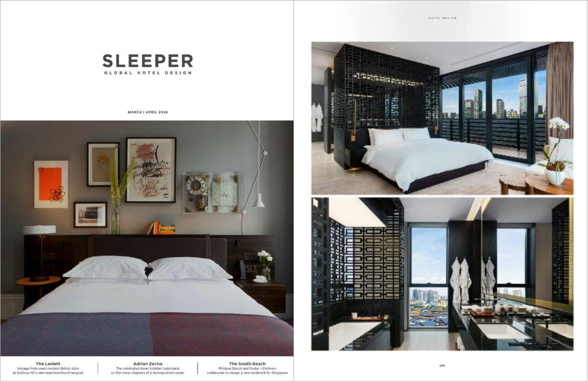 10 mejores revistas de diseño de interiores en el Reino Unido Sleeper.