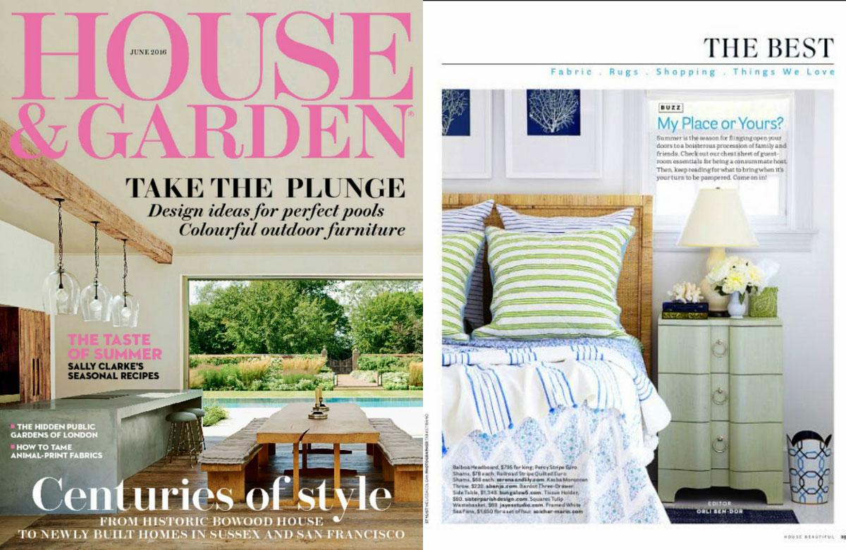 10 mejores revistas de diseño de interiores del Reino Unido House & Garden.