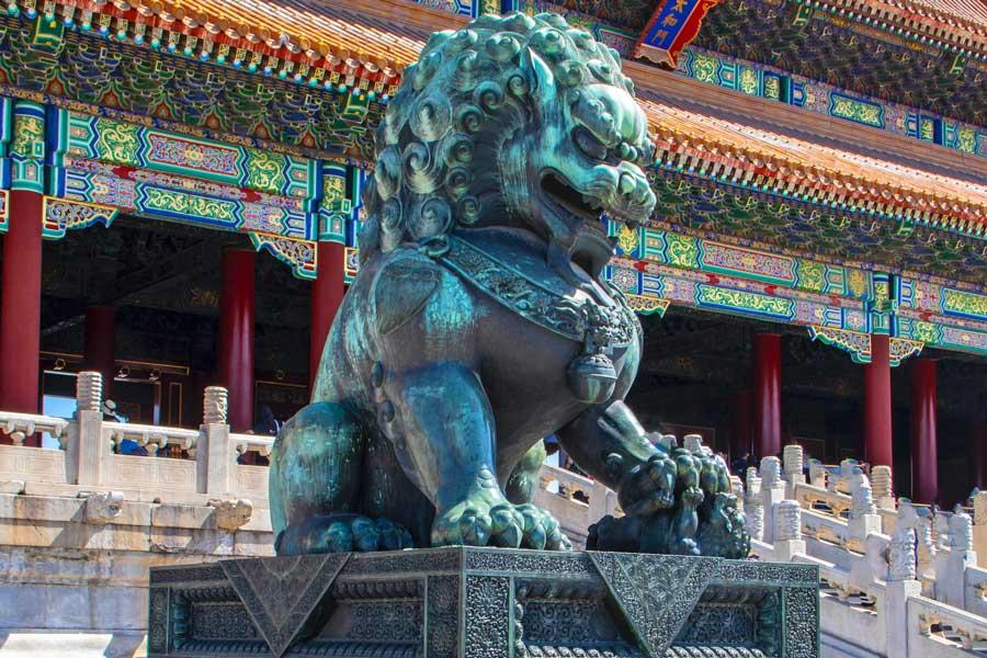 Visita virtual de la Ciudad Prohibida, China