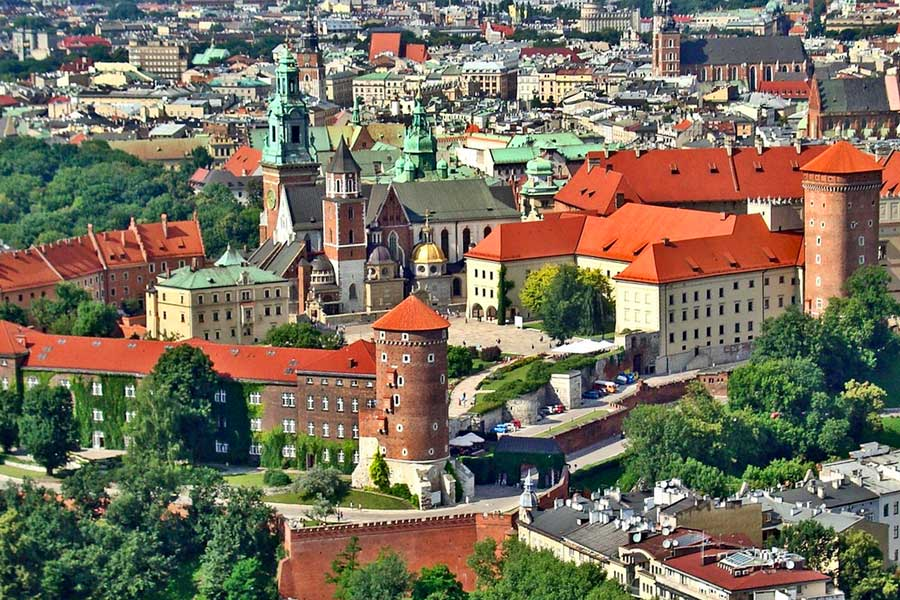 Visita virtual de ciudades, Cracovia Polonia