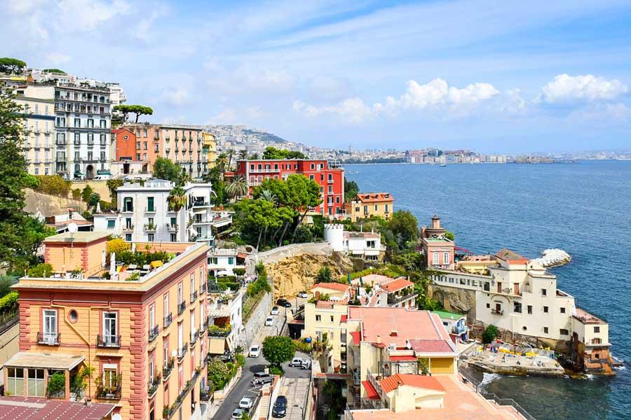 Visita virtual de Nápoles, ciudad de Italia