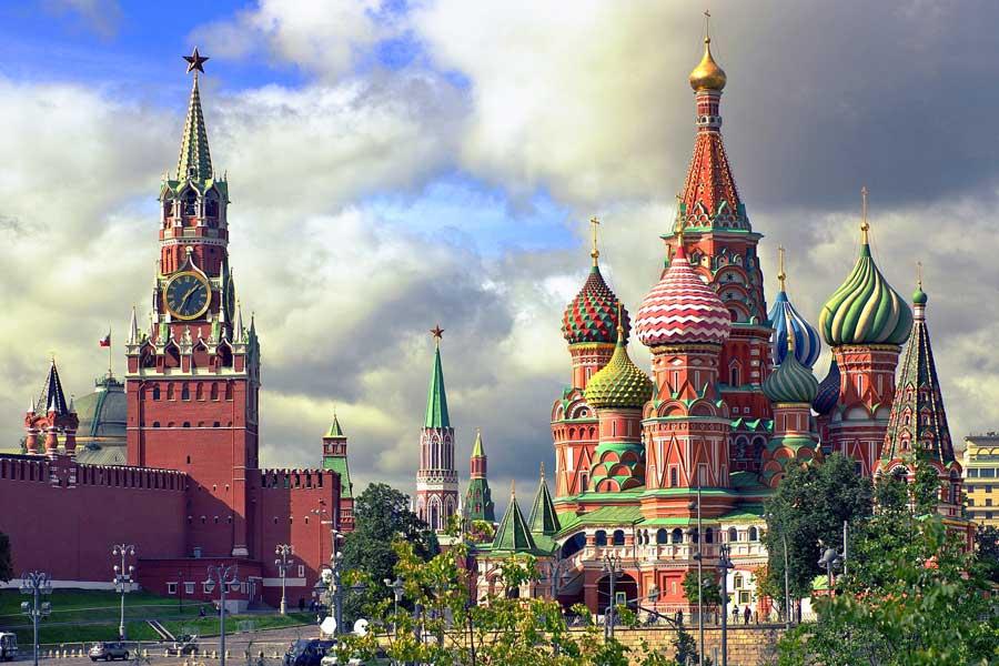 Visita virtual de ciudades, Moscú Rusia