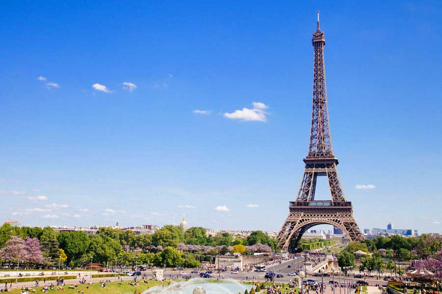 Visita virtual de ciudades, París Francia, visitar Europa
