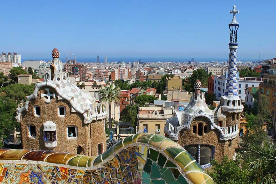 Visita virtual de ciudades, Barcelona España