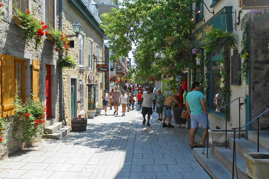 Visita virtual de la ciudad de Quebec (Canadá)