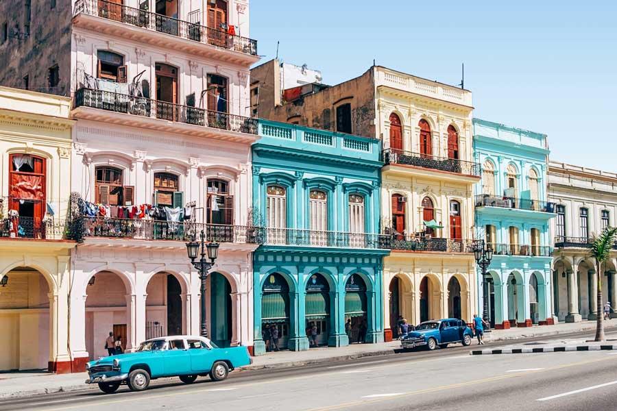 Visita virtual de La Habana, ciudad en Cuba