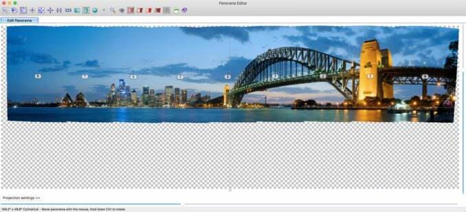 Software de cosido panorámico PTGUI Pro