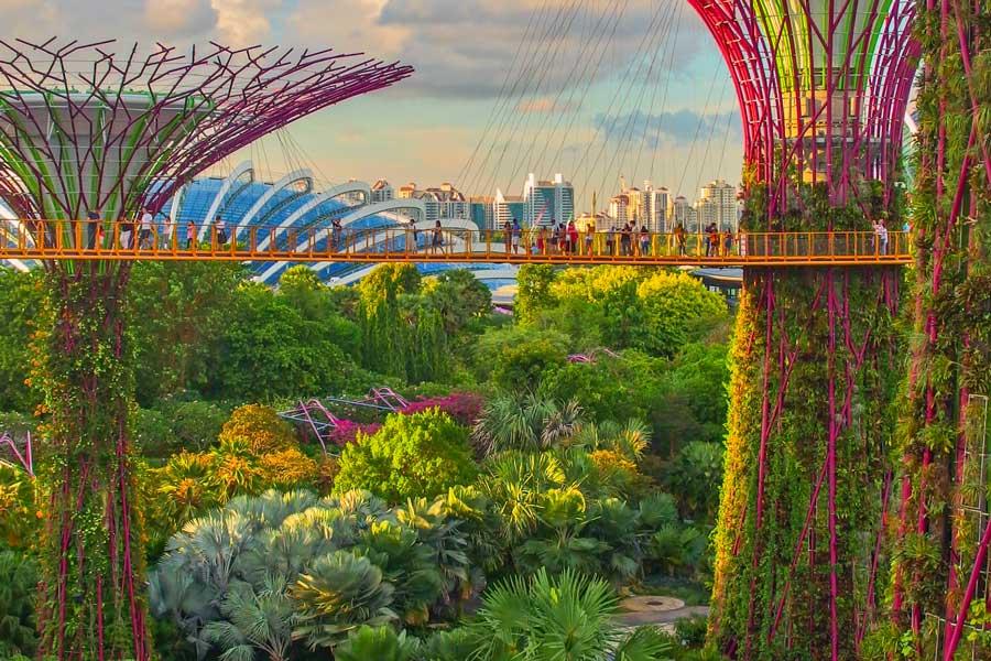 Visita virtual de ciudades, Singapur, destinos de viaje